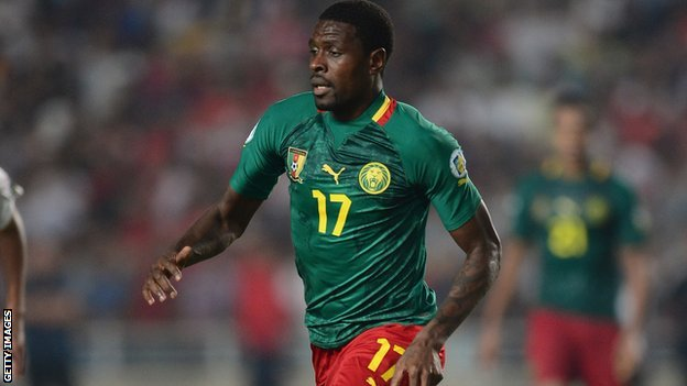 Idrissou will be returning to the Cameroon Lions team for 5 friendly marches...