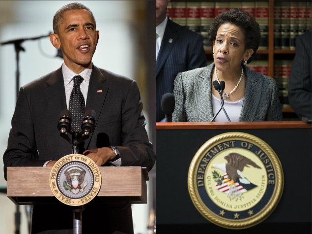 President Obama Loretta Lynch attorney general