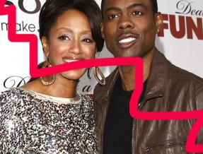 Chris Rock and his wife Malaak Compton